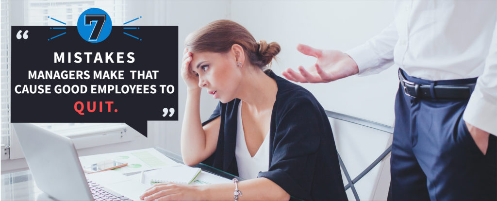 Managers, Mistakes, Employees